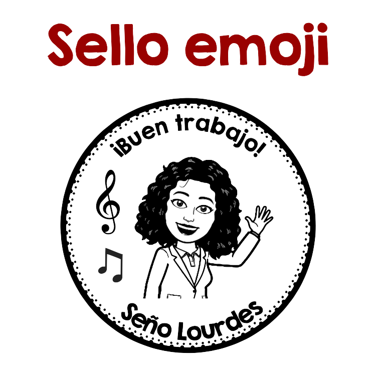 SELLO EMOJI MUSICA
